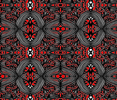 JamJax Red to Black fabric by jamjax on Spoonflower - custom fabric