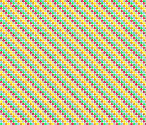 vll_gum_drop_dot_2 fabric by victorialasher on Spoonflower - custom fabric