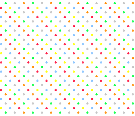 vll_gum_drop_dot_3 fabric by victorialasher on Spoonflower - custom fabric