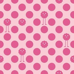 Monster Polka Dots - Girl