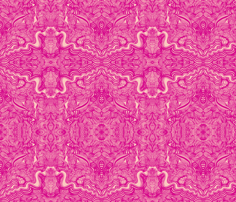 JamJax Pink Place fabric by jamjax on Spoonflower - custom fabric