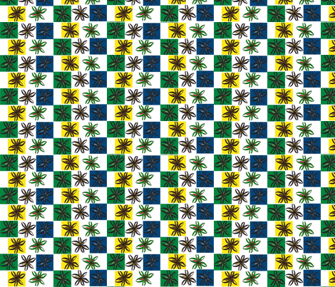 JamJax Flower Box fabric by jamjax on Spoonflower - custom fabric