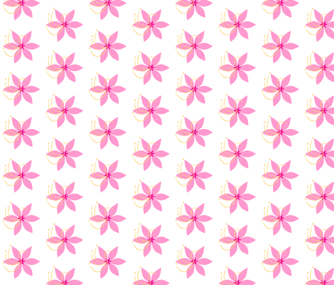 Springtime in Pink fabric by cksstudio80 on Spoonflower - custom fabric