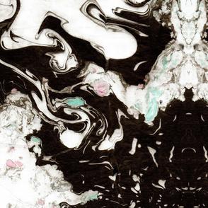 suminagashi hearts