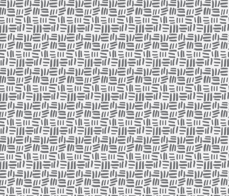 Grey Dash fabric by daniellerenee on Spoonflower - custom fabric