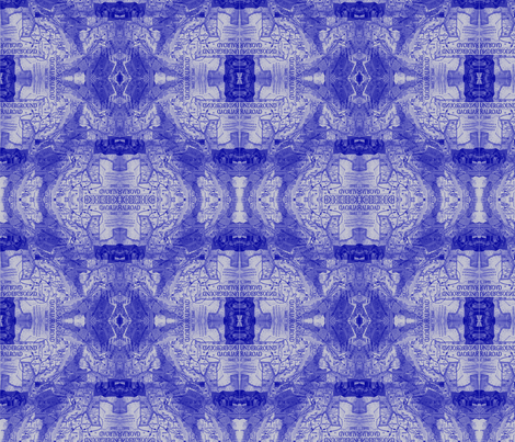 Underground Railroad -BLUE-118 fabric by kkitwana on Spoonflower - custom fabric