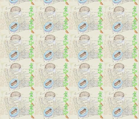 Sweet Potatoe Pies Recipes-123 fabric by kkitwana on Spoonflower - custom fabric