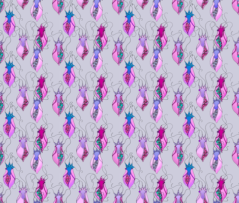 floral, Nature inspired 1 fabric by findevogel on Spoonflower - custom fabric