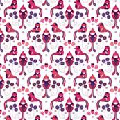 Vogel & Erdbeere
