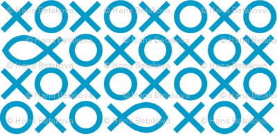 Tic-tac-toe fish