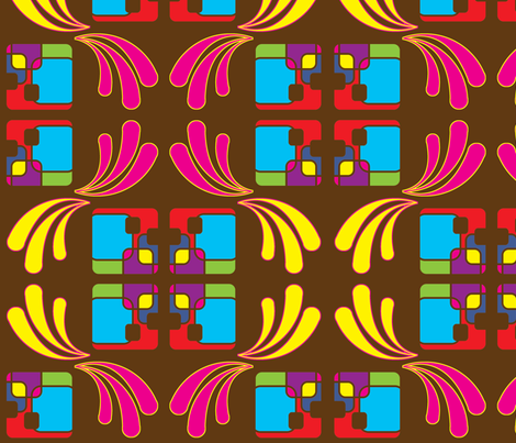 building_blocks_brown fabric by snork on Spoonflower - custom fabric