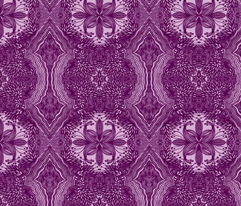 JamJax Violetta fabric by jamjax on Spoonflower - custom fabric