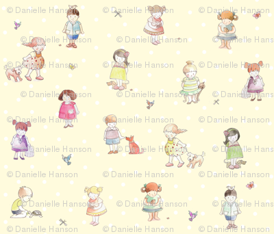 children_cartoon fabric