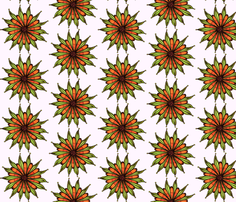 Lots of Petals fabric by societydeb on Spoonflower - custom fabric