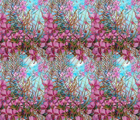 Alaskan Fireweed fabric by helenklebesadel on Spoonflower - custom fabric