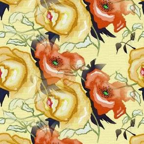 Vintage_china-_Orange Poppy