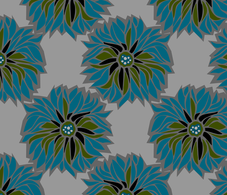 sinia_night fabric by renule on Spoonflower - custom fabric