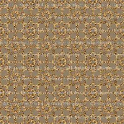 Rosettes Petite - Fawn
