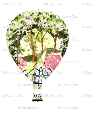 Secret Garden hot air balloons