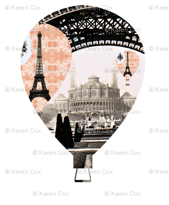 Parisian Hot Air Ballon
