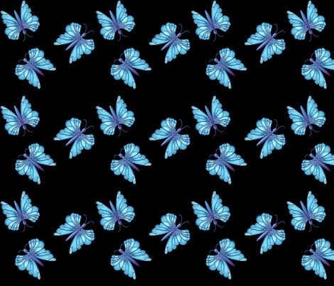 fantasy_butterfy_vo fabric by vo_aka_virginiao on Spoonflower - custom fabric