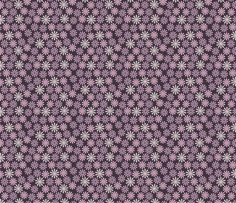 Lil Flowers (3:3) fabric by katherina_london on Spoonflower - custom fabric