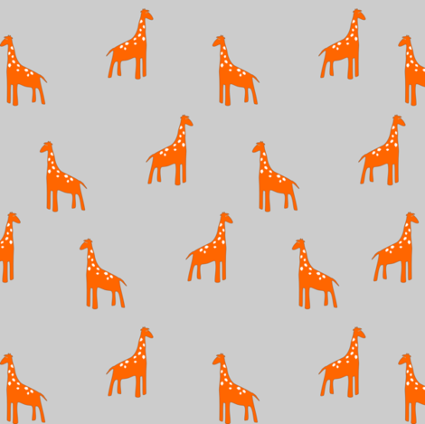 giraffepattern fabric by mrshervi on Spoonflower - custom fabric