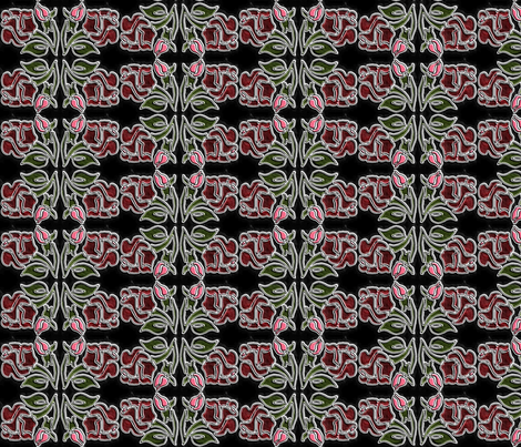 American Beauty fabric by kdl on Spoonflower - custom fabric
