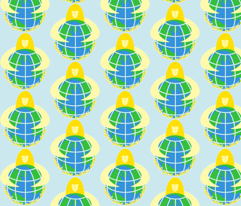 Mother Earth fabric by kdl on Spoonflower - custom fabric