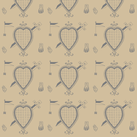 Ezili fabric by nalo_hopkinson on Spoonflower - custom fabric