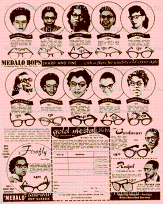 Vintage Afro Glasses