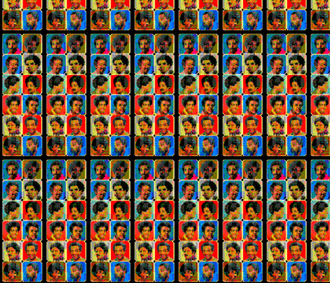 Afro-History-131 fabric by kkitwana on Spoonflower - custom fabric