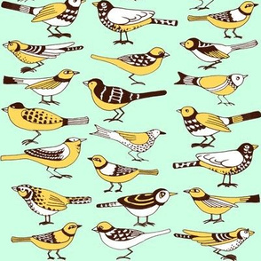 Jone's Yellow Birds