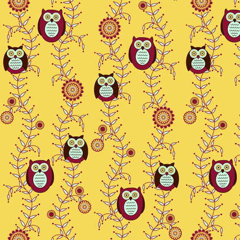 Enjoying the Sunshine fabric by strive on Spoonflower - custom fabric