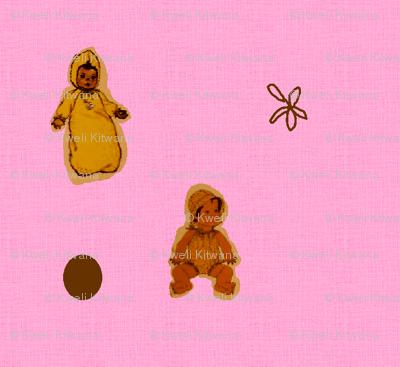 African American Babies-Pink-132