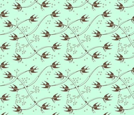 Swalloweave fabric by jenimp on Spoonflower - custom fabric