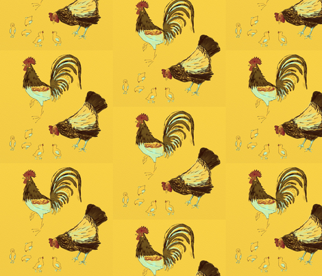 Bird Challenge fabric by marywalker on Spoonflower - custom fabric