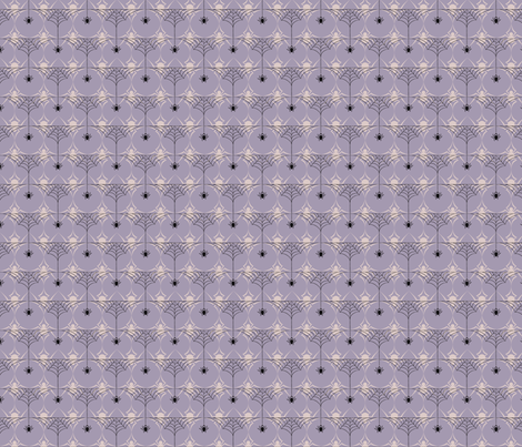HalfWeb_Blue fabric by voodoorabbit on Spoonflower - custom fabric