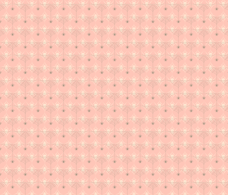 Half Web_Pink fabric by voodoorabbit on Spoonflower - custom fabric