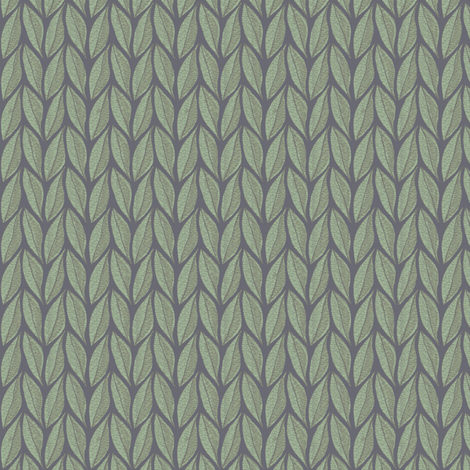 Interlacing Leaves fabric by kristopherk on Spoonflower - custom fabric