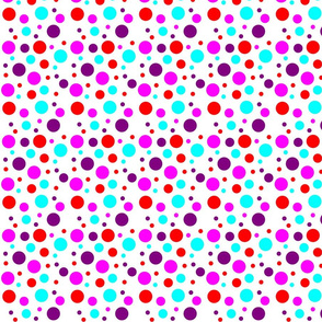 Matroyshka Brights Co-ordinate - dots