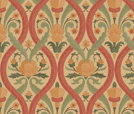 Serpentine 3b fabric by muhlenkott on Spoonflower - custom fabric