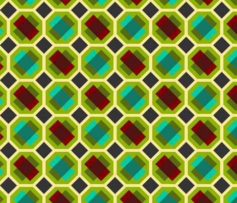 geometry fabric by renule on Spoonflower - custom fabric