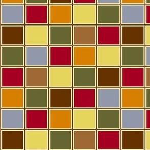 Multi-colored squares