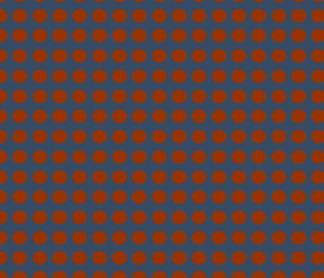 Superman dots fabric by cutiepoops on Spoonflower - custom fabric