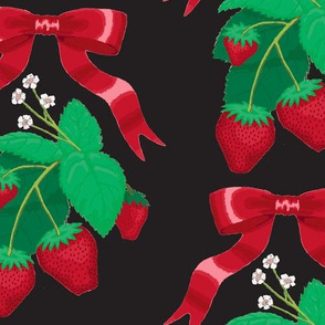 strawberry_ribbons_black