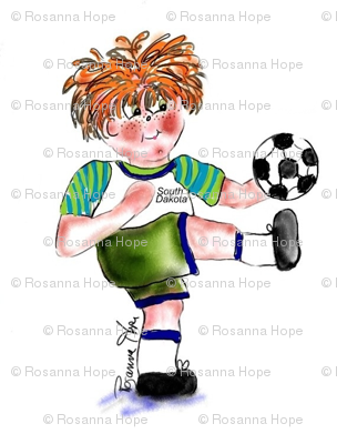 Soccer Fun by Rosanna Hope