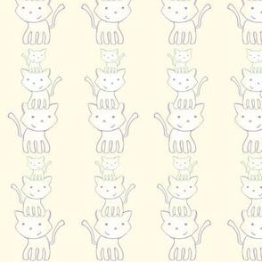 kitty totem stripe