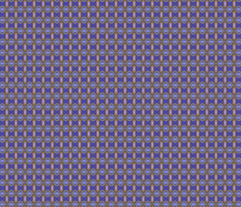 Periwinkle Jewels fabric by kdl on Spoonflower - custom fabric