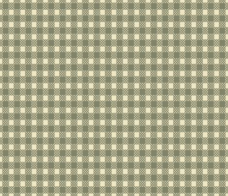 Pear Harvest - Gingham Large fabric by kristopherk on Spoonflower - custom fabric